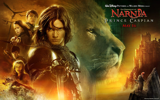 Movie poster of Chronicles of Narnia - Prince Caspian.