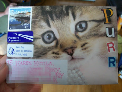 Mail art, Handmade, Envelope, Pen pals, Snail mail, That's the way the cookie crumbles.