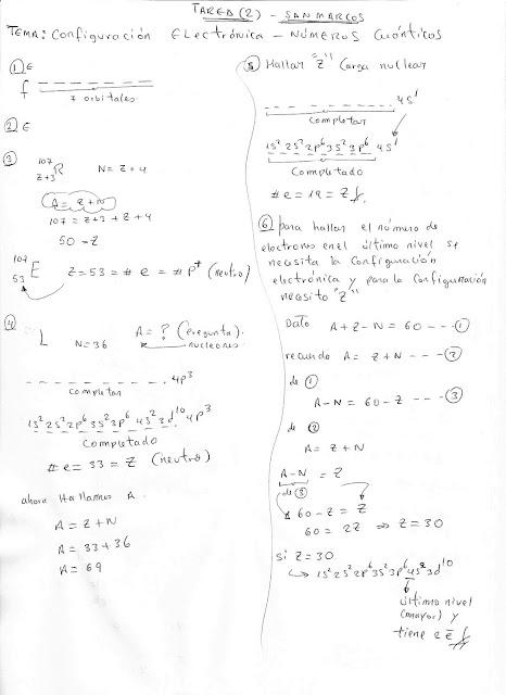 Qumica pre universitario san marcos regular 2011 ii tarea 3 tema tabla peridica san marcos urtaz Choice Image