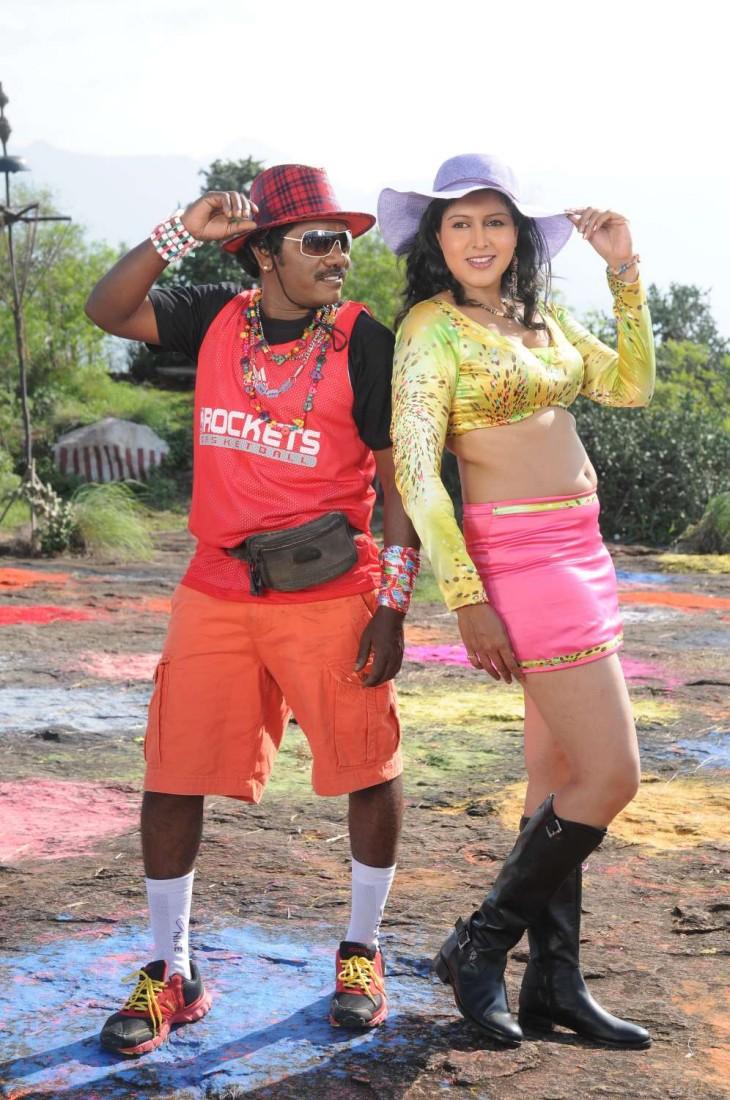 Tamil Actress Sheryl Pinto Navel show Photos