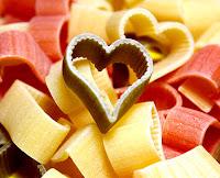 heart pasta Italian cooking