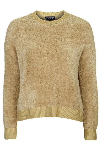fluffy jumper, gold fluffy jumper, mustard fluffy jumper, beige fluffy jumper,