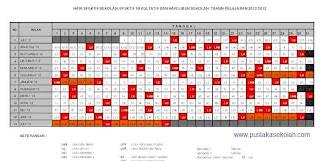 Kalender Pendidikan 2012/2013