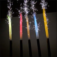 Color Bottle Sparklers