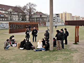 EAD | ASG - Berlin Wall Memorial – Death Strip - Dagmar Jäger and Eran Neuman with students from Azrieli School of Architecture - Tel Aviv [photo: jp3]