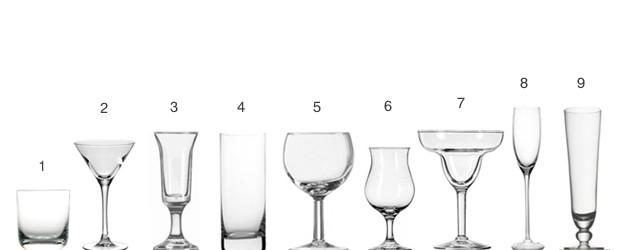 Mesa y bar clases de copas for Copas y vasos para bar