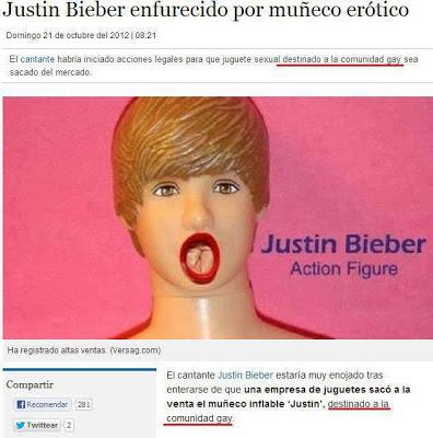 Justin bieber es una puta