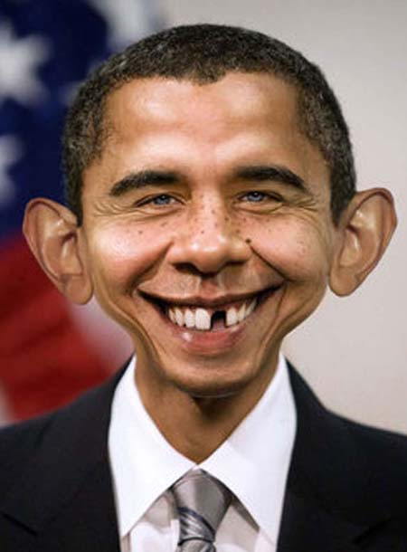 obama as a  baby  funny
