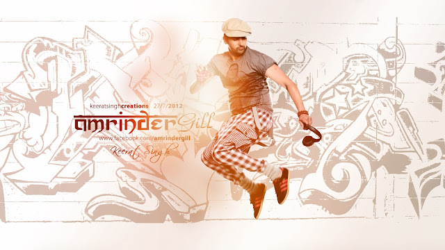 Brand New HD Wallpaper Of Amrinder Gill For All Fans