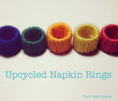 DIY napkin rings tutorial by {julieis}cocoandcocoa