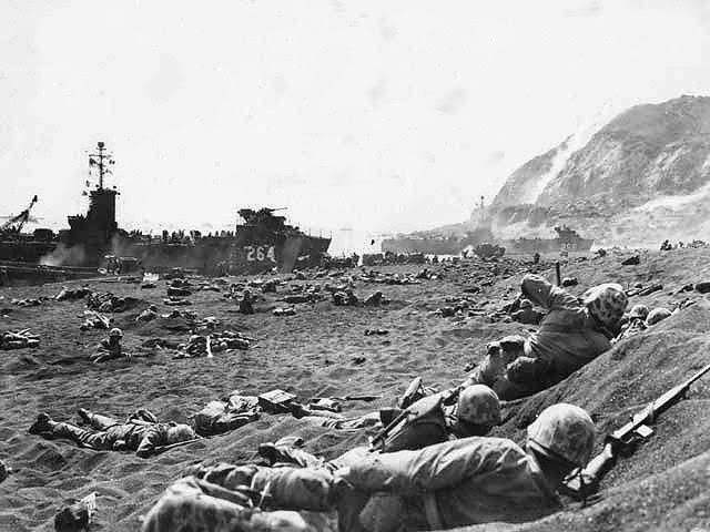 Iwo Jima footage