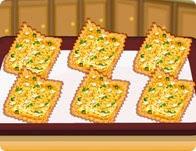 لعبة طبخ قطع الخبز المقرمشة