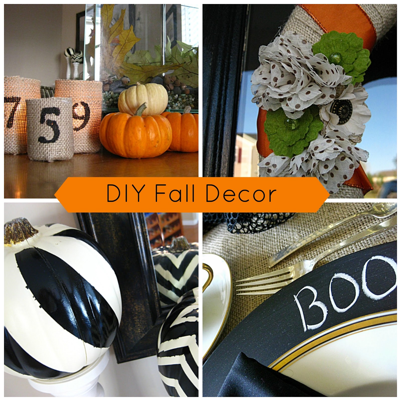 Eat Sleep Decorate Diy Cheap Easy Fall Decorating
