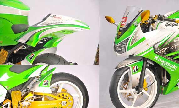 lainnya dari Kawasaki Modifikasi, Modifikasi Motor title=