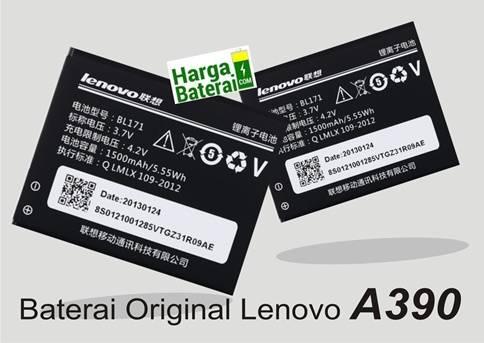 Harga Baterai Original Lenovo A390 Terbaru