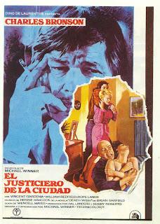 Death Wish / El Vengador Anonimo / El Justiciero de la Ciudad Poster