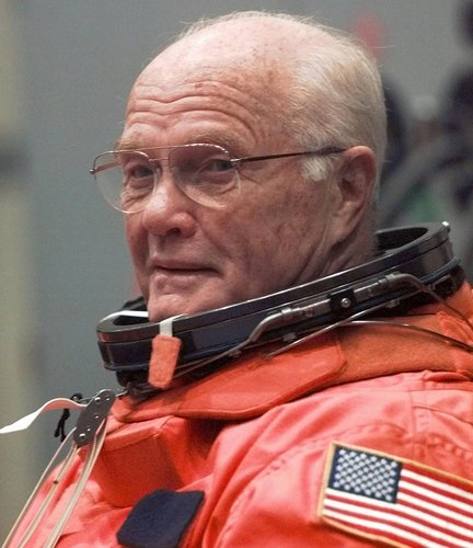 JOHN GLENN DEAD AT 95 YEARS OLD.