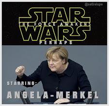 Merkel u. Schneider-Ammann spielen Star Wars