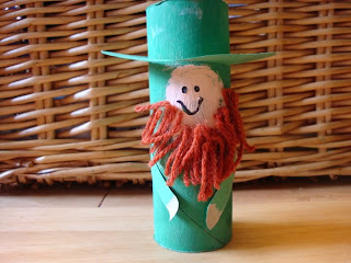 Toilet Paper Roll Leprechauns