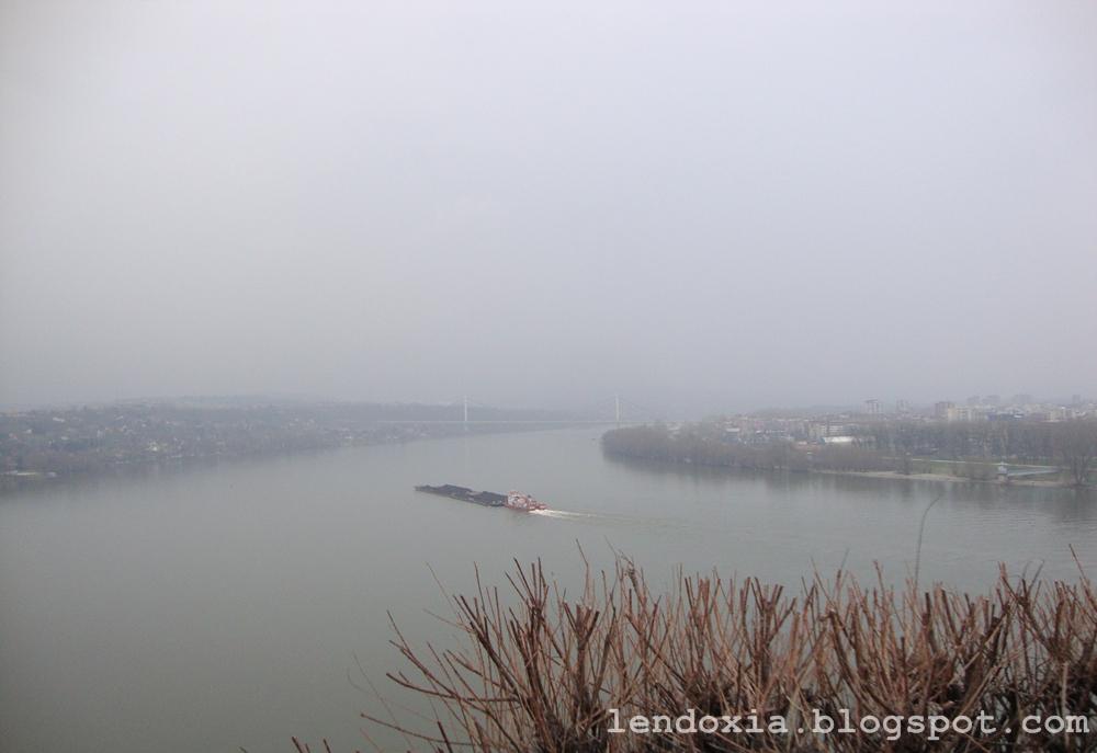 pogled na Dunav s petrovaradinske tvrđave