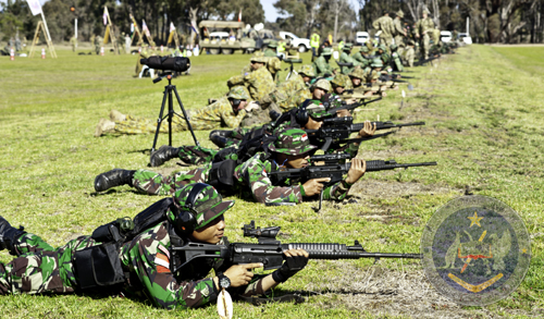 Kemampuhan Menembak TNI Disegani Militer Internasional