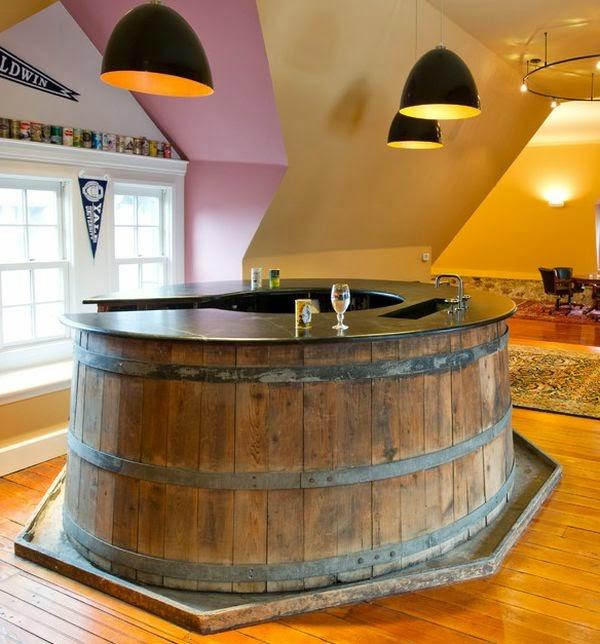 Bar tonel for Barra de bar exterior