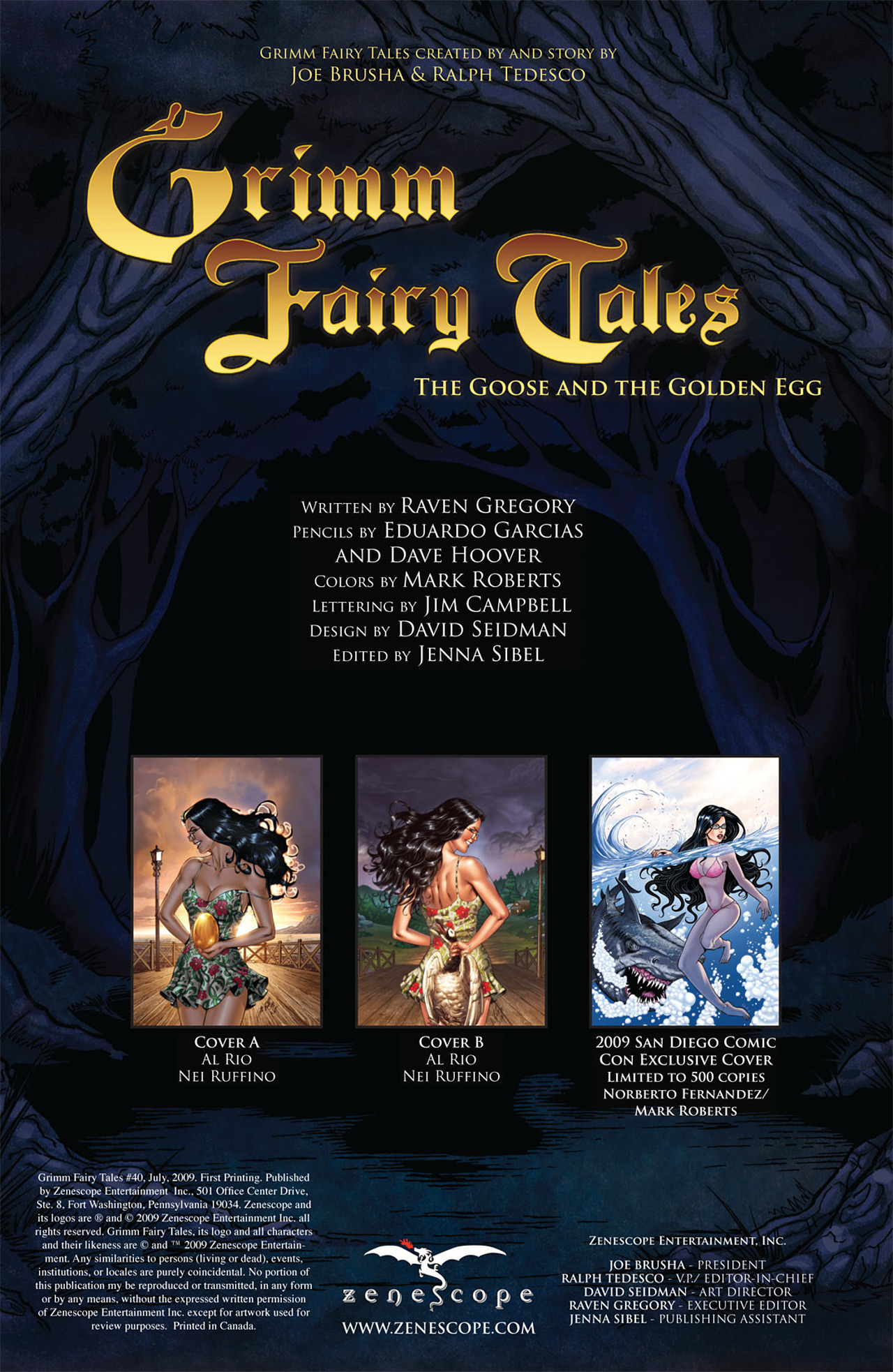 Grimm Fairy Tales (2005) Issue #40 #43 - English 2