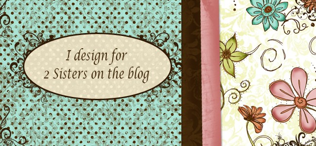 Design Teamlid 2 Sisters on the blog
