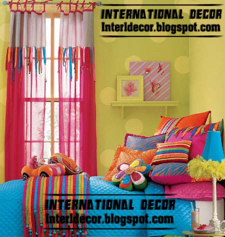 Best curtains colors for kids room kids room curtains Best color for kids room
