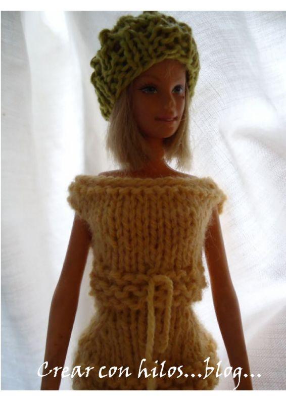 Vestidos Tejidos Para Barbie's