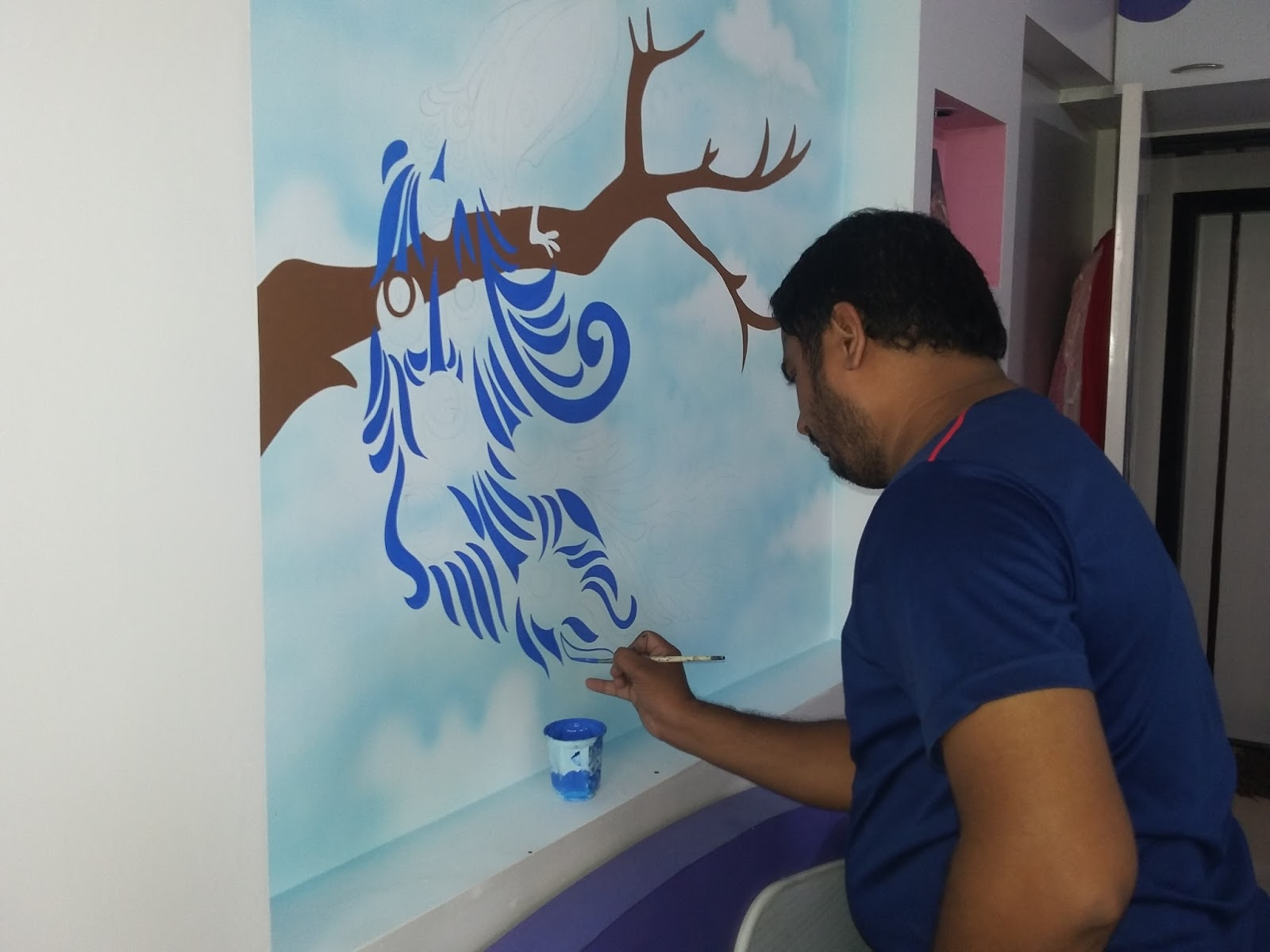 playschool wall painting mumbai wall murals in mumbai kids room fun ideas simple wall murals for kids kids