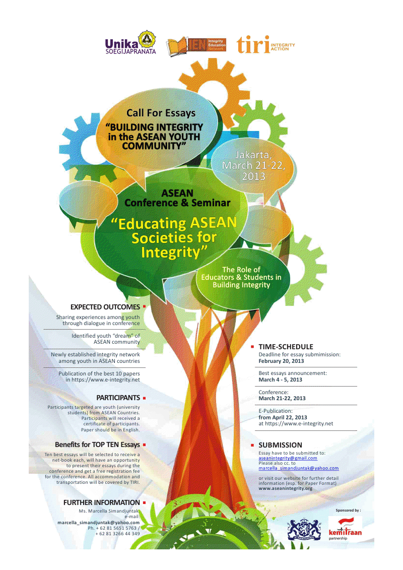 call for essay the role of educators students in building call for essay the role of educators students in building integrity