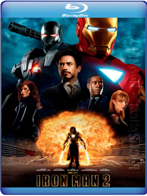 Iron Man 2 (Español Latino) (BRrip) (Audio AC3) (2011)