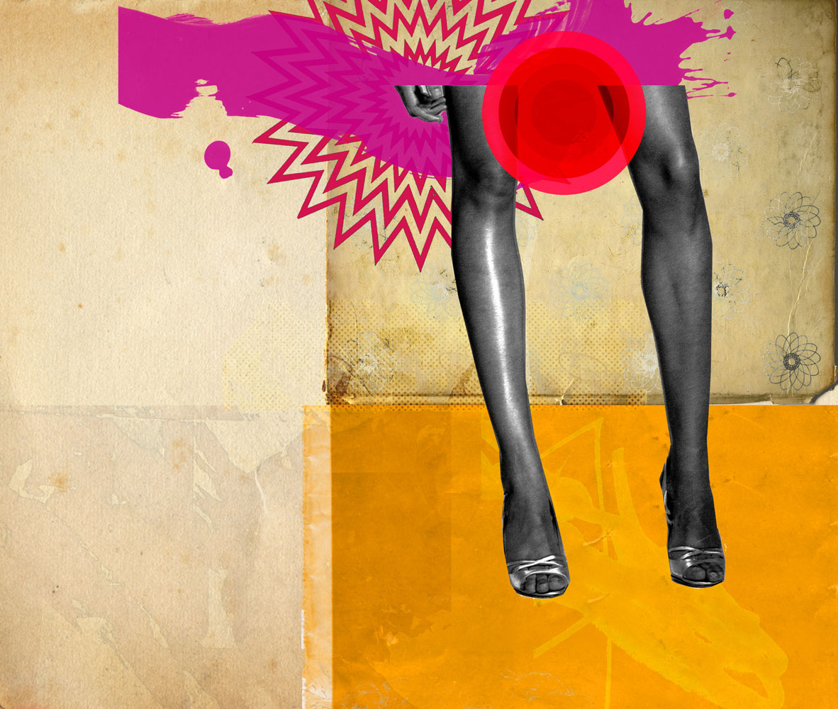 Michelle Thompson. Collage