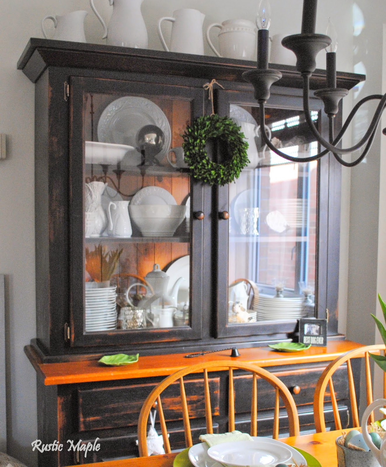 Rustic Maple Spring Dining Room