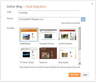 cara bikin blogger