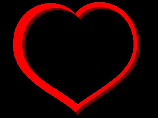 Corazones con fondo transparente heart im genes de for Fotos del corazon