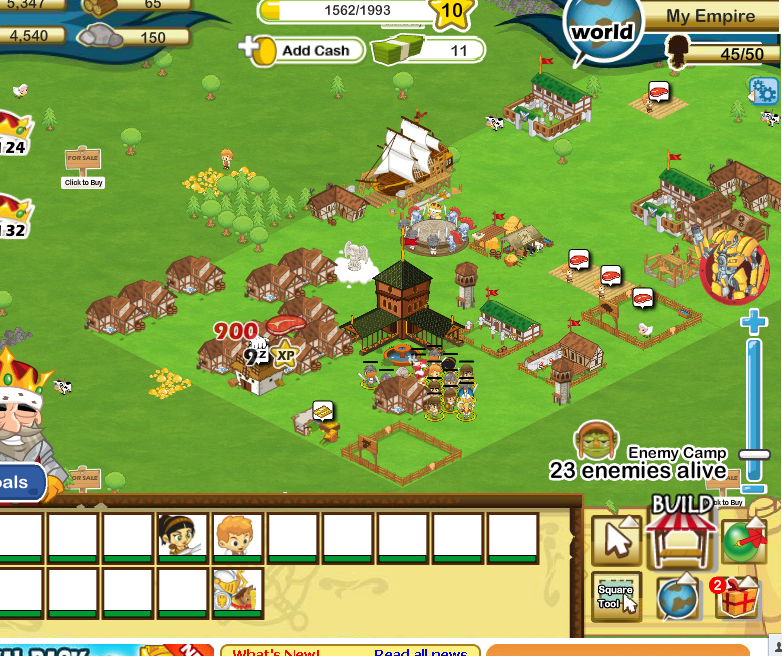 social empire Social empires, file size: 255 mb, rating: 8829% with 2085 votes , played: 47,713 times from july-19th-2011 description: manage your existing forces, as you can't build any more take out the orcs and grab gems.