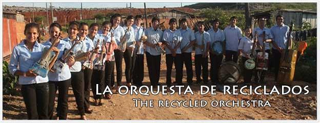 Orquesta de reciclados, Cateura, Asunción, Paraguay