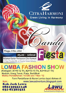 LOMBA FASHION, CANDY FIESTA