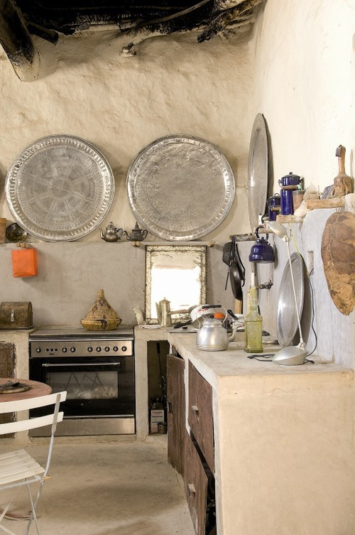 Moon to Moon: Creating a Bohemian kitchen