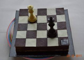Echecs & Mariage : le gâteau © Chess & Strategy