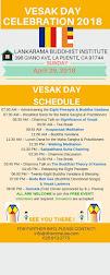 Vesak Celebration - 2018