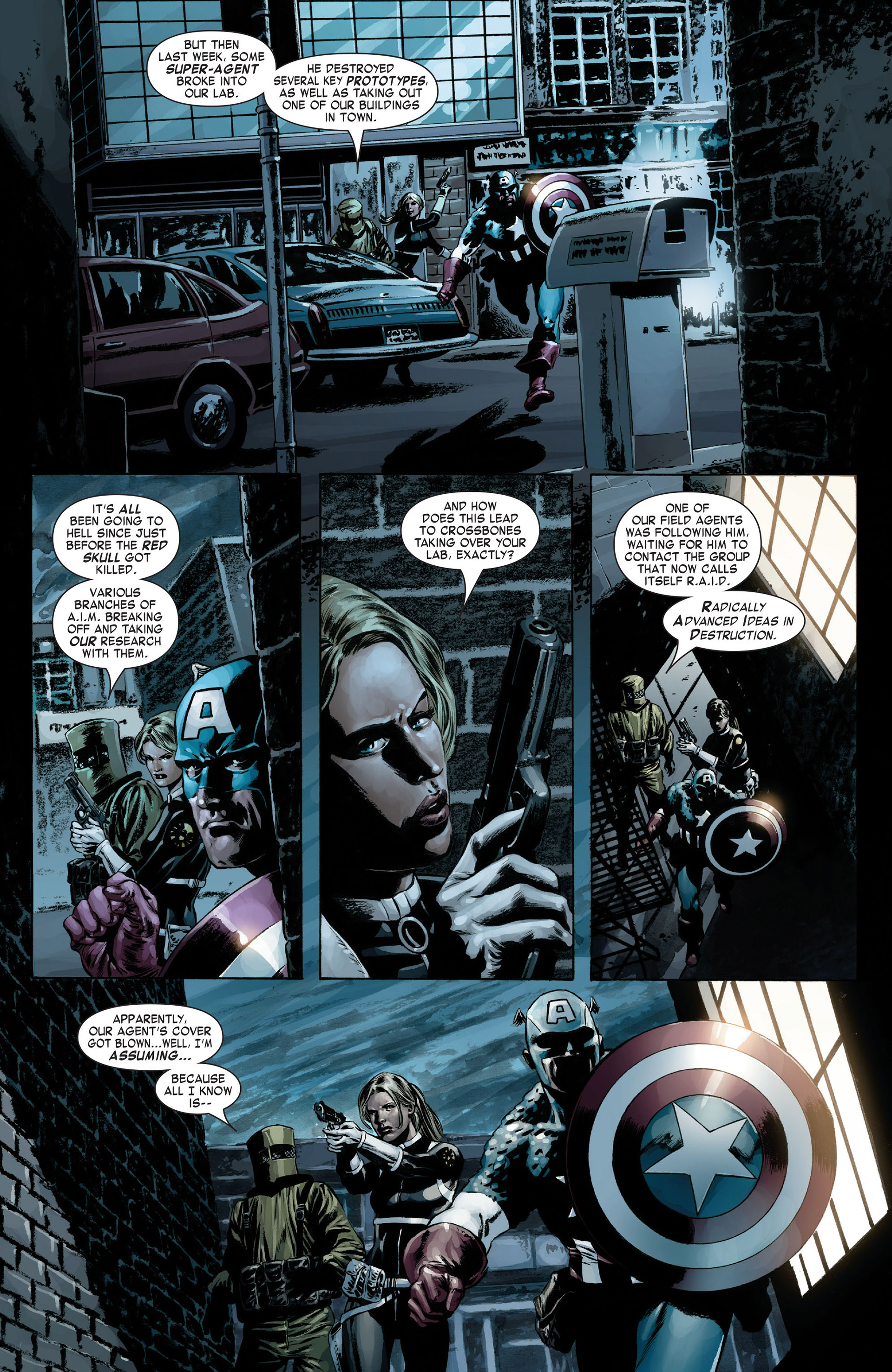 Captain America (2005) Issue #17 #17 - English 5