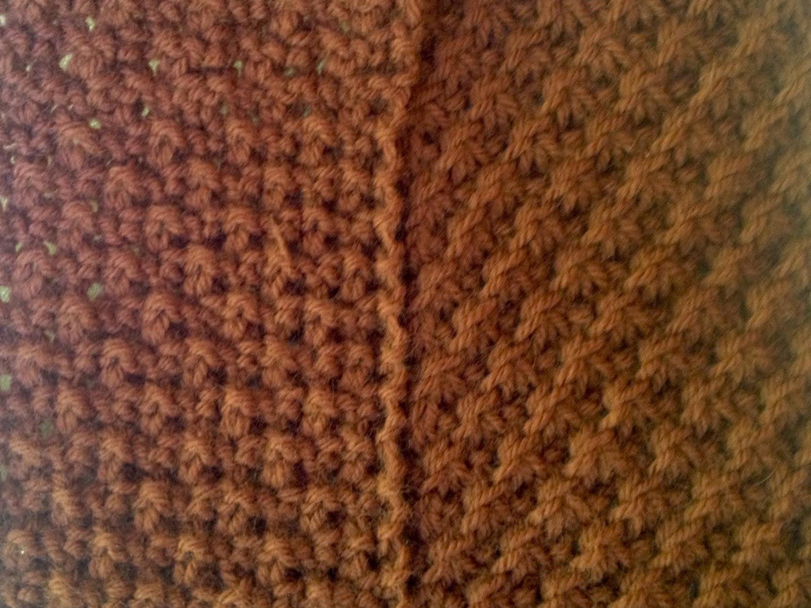 Pattons Daisy Stitch Scarf A Time To Knit
