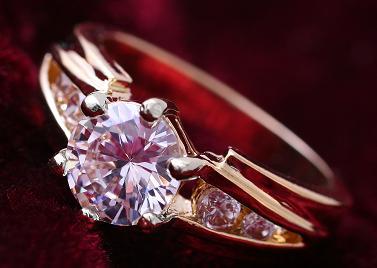 Foto Cincin Berlian