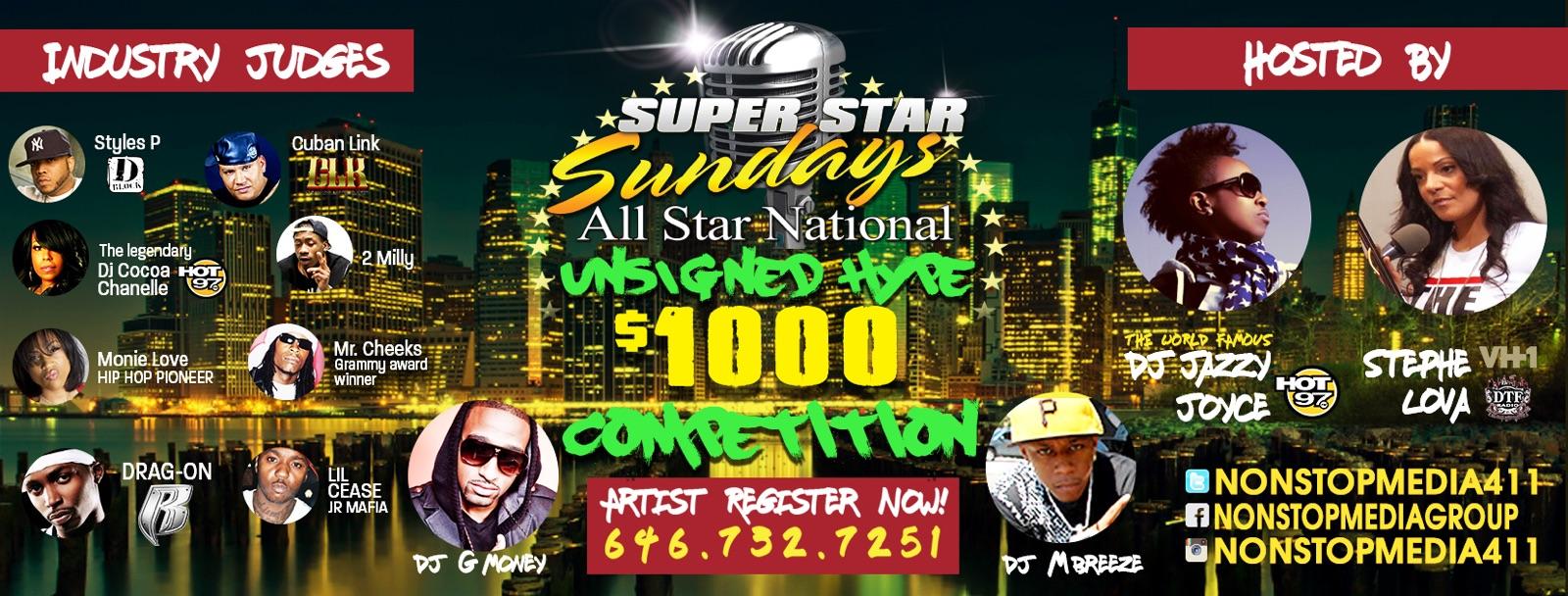 Superstar Sundays