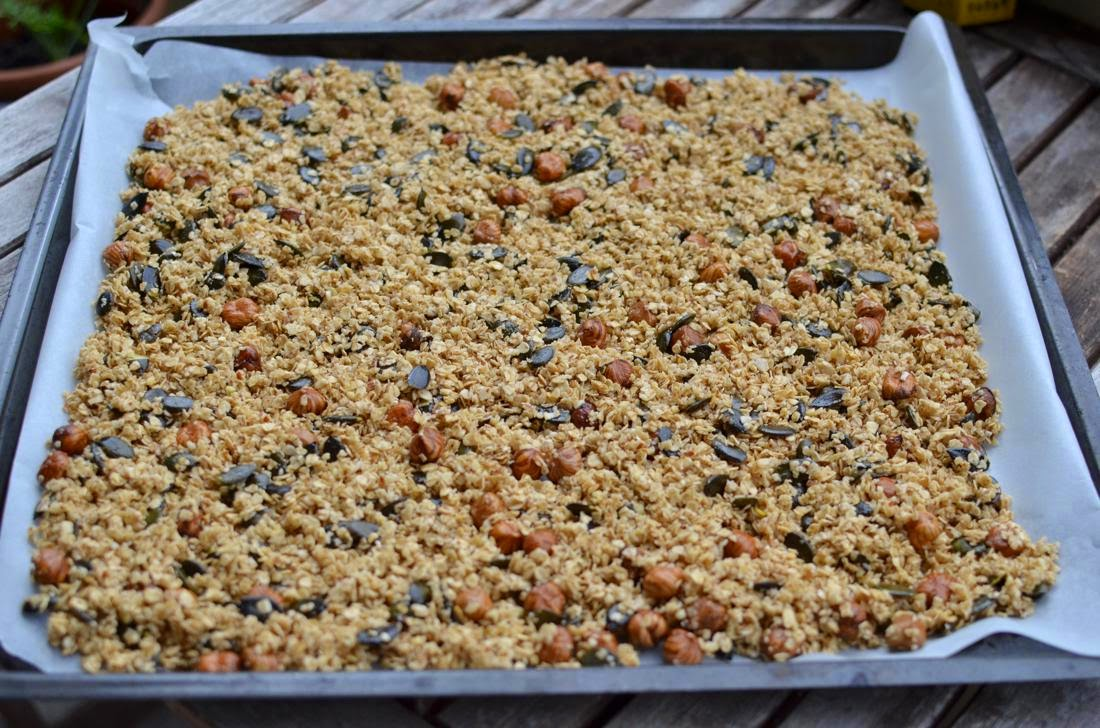 Recipe Homemade granola with coconut oil