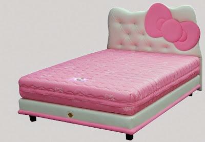Tempat Tidur Bigland Hello Kitty 2015