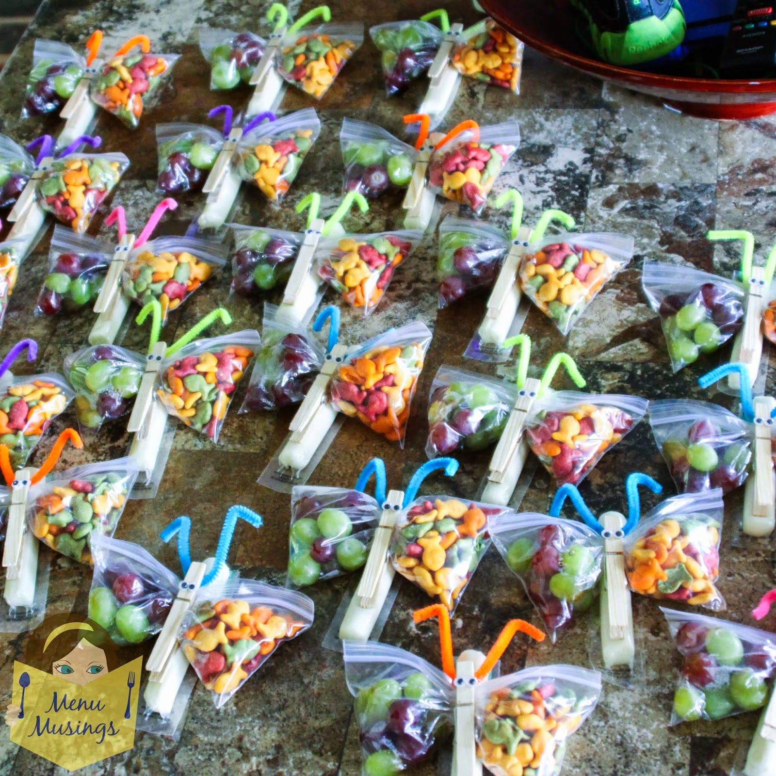 Classroom Cooking Ideas For Kindergarten ~ Menu musings of a modern american mom butterfly snack bags